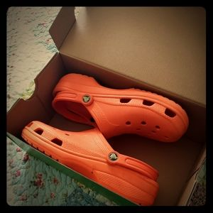 Very well maintained Crocks/Size W 12-14/M 10 -11